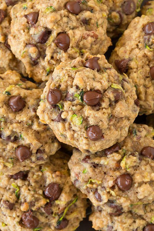 """<p>Basically, the easiest way to trick yourself into eating veggies.</p><p>Get the recipe from <a href=""""http://www.cookingclassy.com/2014/07/zucchini-oat-chocolate-chip-cookies/"""" rel=""""nofollow noopener"""" target=""""_blank"""" data-ylk=""""slk:Cooking Classy"""" class=""""link rapid-noclick-resp"""">Cooking Classy</a>.</p>"""
