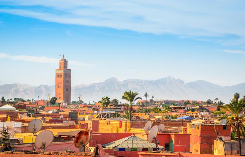 Find some of Morocco's best food and crafts in Marrakesh's busy Medina: iStock
