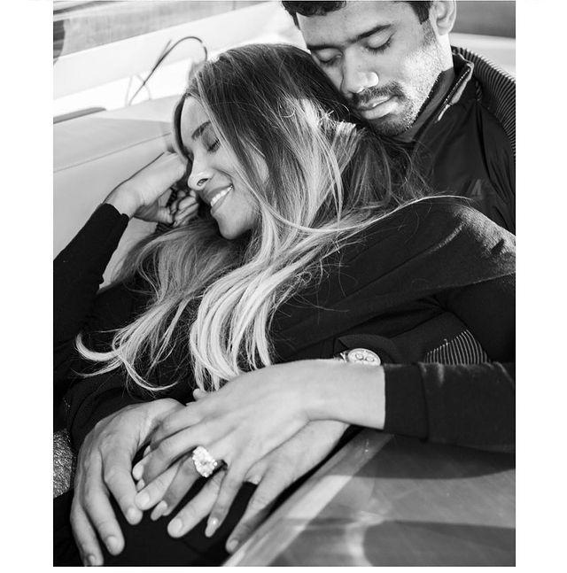 """<p>The singer shared a black-and-white photograph of herself and her husband on Instagram to announce the news of her pregnancy.</p><p>'On this special birthday I received an abundance of love from friends and family.. and I'm excited to finally share one of the Greatest Gifts of All that God could give..[sic]' she captioned the adorable photo. </p><p><a href=""""https://www.instagram.com/p/BMAv1I1Dr8A/"""" rel=""""nofollow noopener"""" target=""""_blank"""" data-ylk=""""slk:See the original post on Instagram"""" class=""""link rapid-noclick-resp"""">See the original post on Instagram</a></p>"""