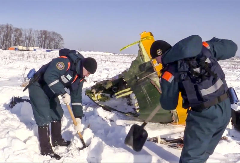 Russia: Human error, faulty sensor behind deadly plane crash