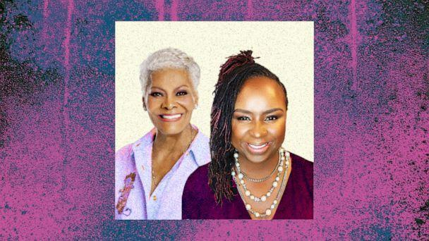 PHOTO: Dionne Warwick is photographed with Dr. Moss-Hasan (Photo credit: David Vance, Dionne Warwick institute of Economics & Entrepreneurship, ABC News Photo Illustration)