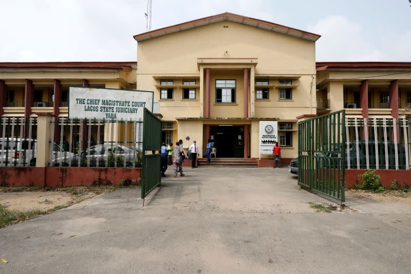 View of Chief Magistrate Court in Yaba, Lagos