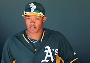 The Cubs acquired another top prospect in Addison Russell in the trade. (Getty Images)