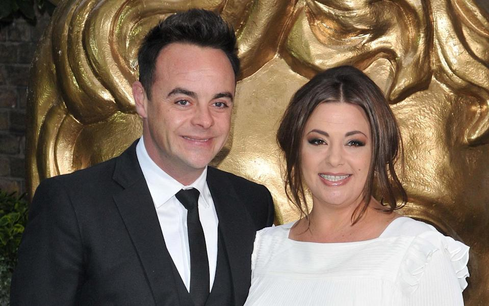 It's all over for Ant and Lisa. Copyright: [Rex]