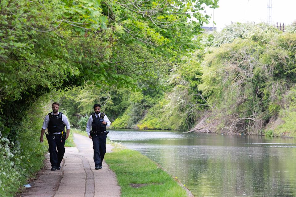 The body of a newborn baby has been found in the Grand Union Canal near Old Oak Lane in north west London, the Metropolitan Police said. (PA)