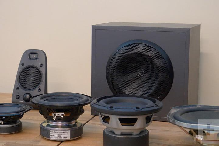 logitech tour speakers variety