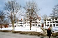 """<p>Hanover, New Hampshire</p><p>Tuition: <a href=""""https://admissions.dartmouth.edu/financial-aid/cost-attendance/cost-attendance"""" rel=""""nofollow noopener"""" target=""""_blank"""" data-ylk=""""slk:$51,468"""" class=""""link rapid-noclick-resp"""">$51,468</a></p>"""