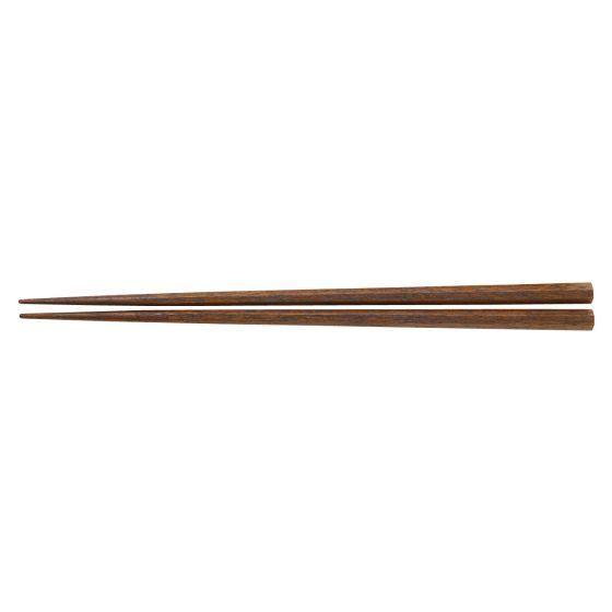 """<p><strong>muji</strong></p><p>muji.us</p><p><strong>$9.90</strong></p><p><a href=""""https://www.muji.us/store/4934761052328.html"""" rel=""""nofollow noopener"""" target=""""_blank"""" data-ylk=""""slk:Shop Now"""" class=""""link rapid-noclick-resp"""">Shop Now</a></p><p>The octagonal shape of these chopsticks<strong> helps keep them from rolling off the table. </strong>They are made of Mala wood and are covered with a smooth lacquer coating, but they have enough texture to help keep food from slipping. The thin, pointy tips are also good at picking up small pieces of food or delicate pieces of fish, according to our lab experts. These chopsticks are on the shorter side at about eight inches long, but they're good for those with smaller hands. Just take note that these are not dishwasher safe. </p>"""