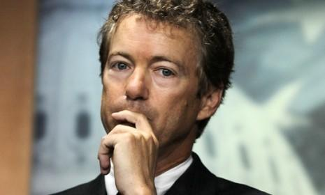 After setting off a full-body scanner and refusing a pat-down, Kentucky Sen. Rand Paul was detained by one of his nemeses: The TSA.