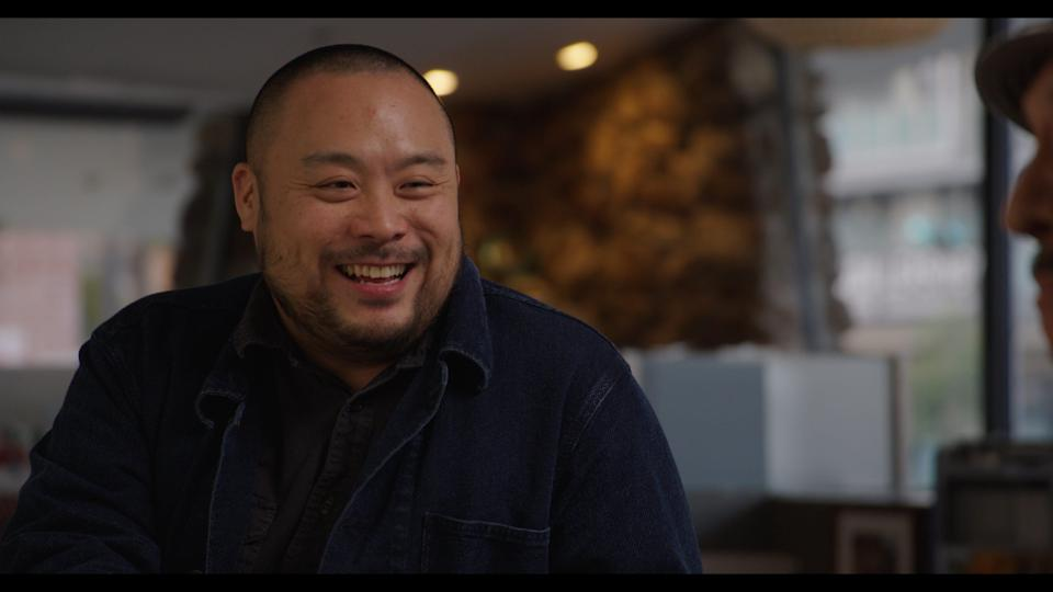"""Chef David Chang explores the origins and history of the food we eat, and where we should go from here, in """"The Next Thing You Eat"""" on Hulu."""