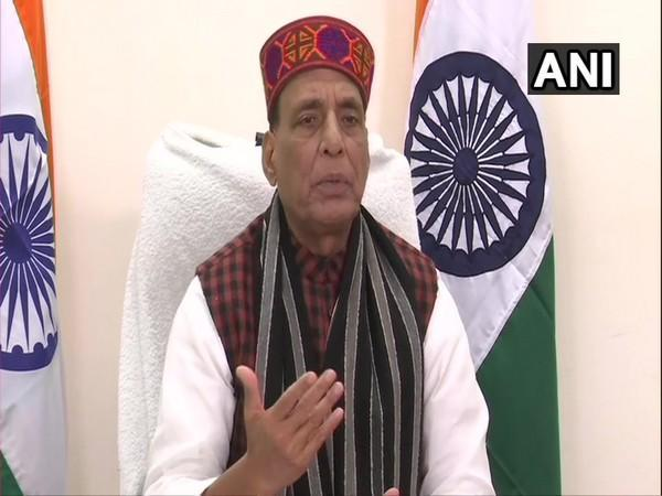 Union Defence Minister Rajnath Singh (Photo/ANI)