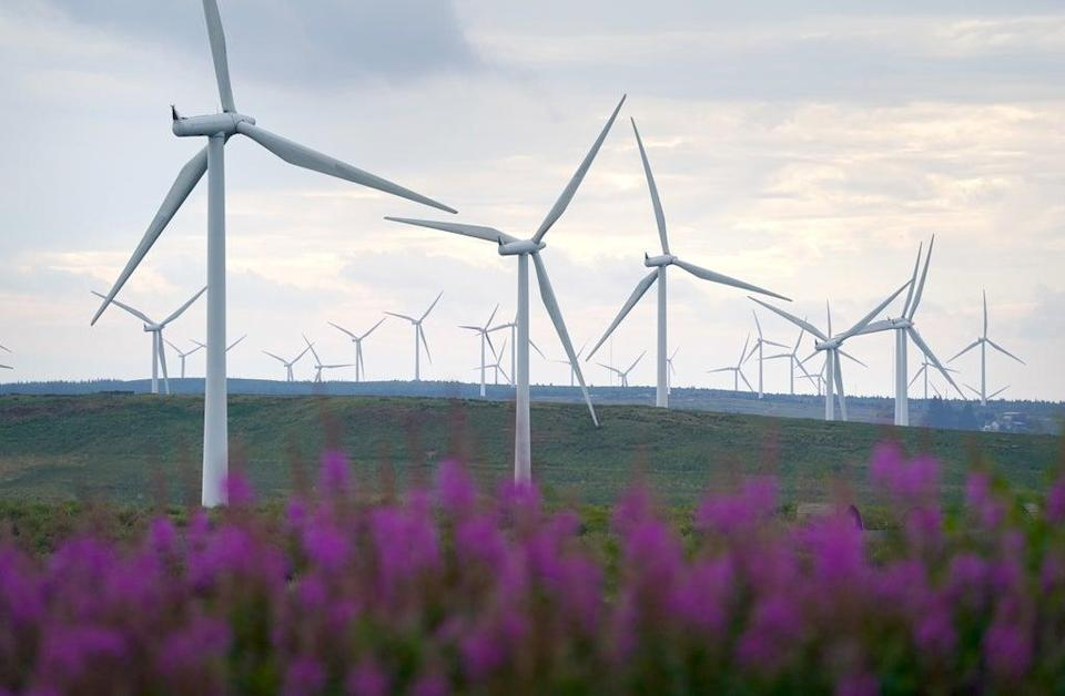 Money raised in the gilt sale will be used for renewable energy investments, among others. (Andrew Milligan/PA) (PA Wire)