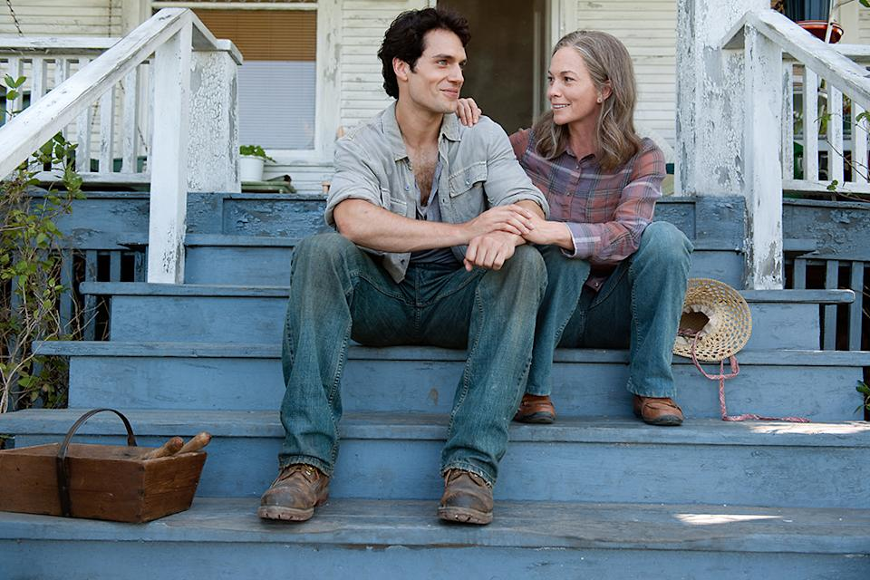 """Henry Cavill and Diane Lane in Warner Bros. Pictures' """"Man of Steel"""" - 2013"""
