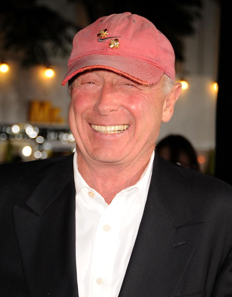 "Director Tony Scott  arrives at the ""Unstoppable"" premiere held at Regency Village Theatre on October 26, 2010 in Westwood, California."