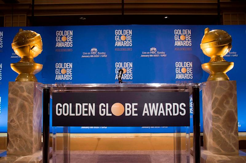 The award goes to...: The Golden Globe nominations will be announced today: AFP/Getty Images