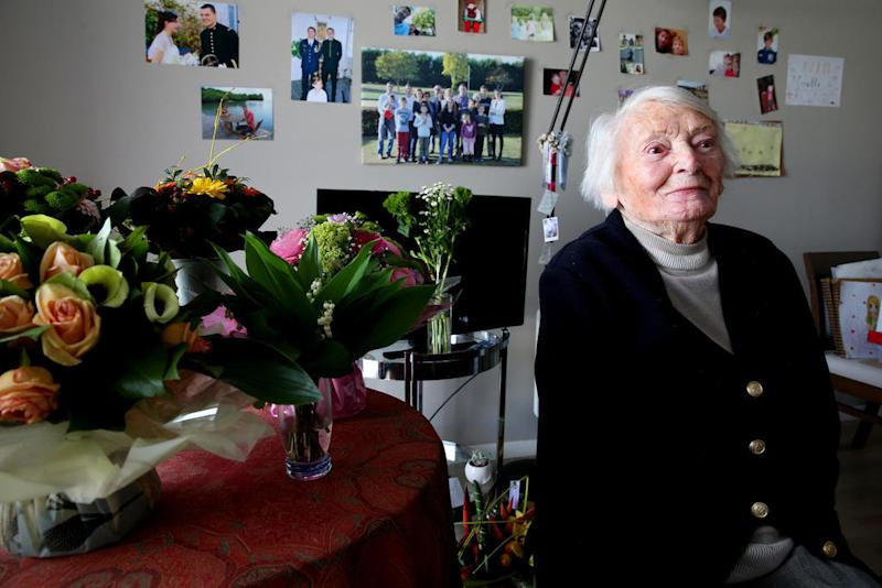 French Resistance fighter Yvette Lundy dies aged 103