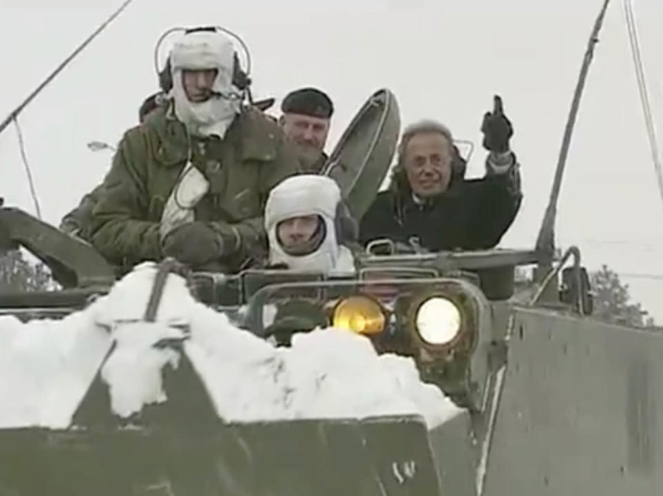 The anniversary of Mel Lastman calling in the Canadian Army for snow removal