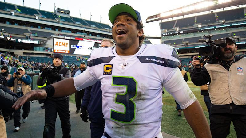 Russell Wilson, who turned 31 Friday, plans to play until he's 45