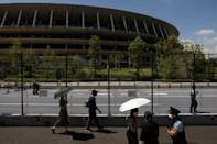 The opening ceremony will be held at Tokyo's Olympic Stadium