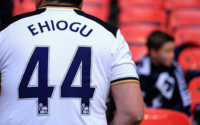<span>A Spurs fan pays tribute to Ugo Ehiogu</span> <span>Credit: Getty images </span>