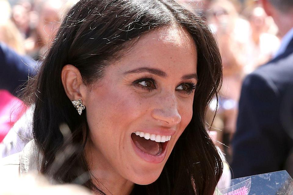 """<p>""""I grew up on the set of a TV show called <em>Married with Children</em>, where my dad was the lighting director,"""" she told <em><a href=""""http://www.besthealthmag.ca/best-you/yoga/meghan-markle-the-beauty-of-balance/"""" rel=""""nofollow noopener"""" target=""""_blank"""" data-ylk=""""slk:Best Health"""" class=""""link rapid-noclick-resp"""">Best Health</a> </em>in 2016<em>.</em> """"Because of the content of the show, my dad would have me help in craft services, which is where they make all the food and nibbles–that's where I started to learn about garnishing and plating. After being there every day after school for 10 years and seeing the appreciation of food, I started to learn the association between food and happiness and being able to entertain—I think that's where the seed was planted.""""</p>"""