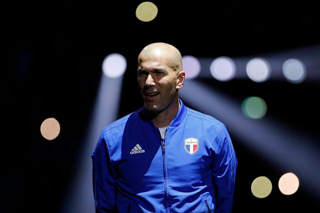 Zinedine Zidane is rumored to be Chelsea's dream hire. (Associated Press)