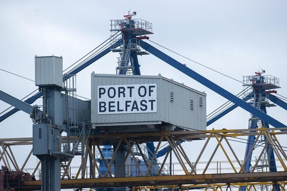 The Port of Belfast Harbour (Liam McBurney/PA) (PA Wire)