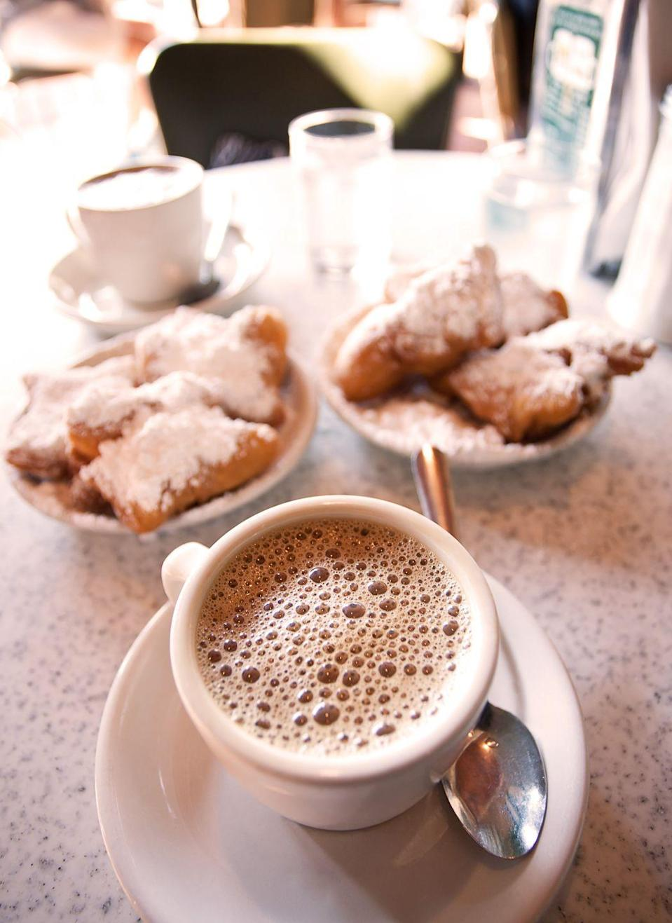 "<p>Music may be the food of love, but who says you can't have both great music and great food? That's what you'll find down in New Orleans. Treat your loved one to a concert at a local jazz club and eat beignets to your heart's content. </p><p><a class=""link rapid-noclick-resp"" href=""https://go.redirectingat.com?id=74968X1596630&url=https%3A%2F%2Fwww.tripadvisor.com%2FTourism-g60864-New_Orleans_Louisiana-Vacations.html&sref=https%3A%2F%2Fwww.redbookmag.com%2Flife%2Fg35212951%2Fromantic-weekend-getaways%2F"" rel=""nofollow noopener"" target=""_blank"" data-ylk=""slk:PLAN YOUR TRIP"">PLAN YOUR TRIP</a></p>"