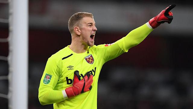 """<p>What a downfall Joe Hart has experienced. The former undisputed number one at Manchester City saw his Italian experiment at Torino fail miserably and it looks as though a similar loan spell with <a href=""""http://www.90min.com/teams/west-ham?view_source=incontent_links&view_medium=incontent"""" rel=""""nofollow noopener"""" target=""""_blank"""" data-ylk=""""slk:West Ham"""" class=""""link rapid-noclick-resp"""">West Ham</a> is heading in the same direction.</p> <br><p>Dropped for Adrian, the 30-year-old is in serious threat of not making the England squad for next summer's World Cup, let alone the number one jersey, and he will have to turn things around dramatically if he is to resurrect his career.</p>"""