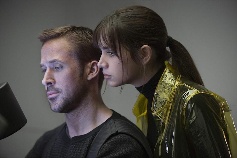 Ryan Gosling and Ana De Armas in Blade Runner 2049