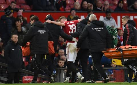<span>Manchester United have felt the loss of Scott McTominay in midfield</span> <span>Credit: AFP </span>