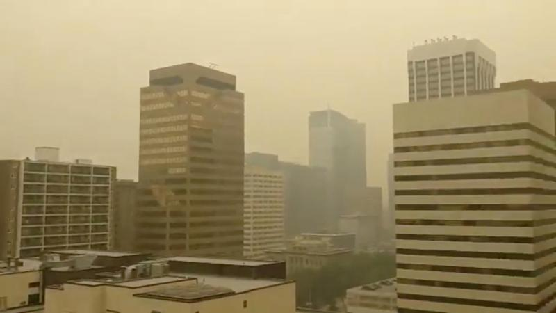 Air quality advisory in place due to wildfire smoke