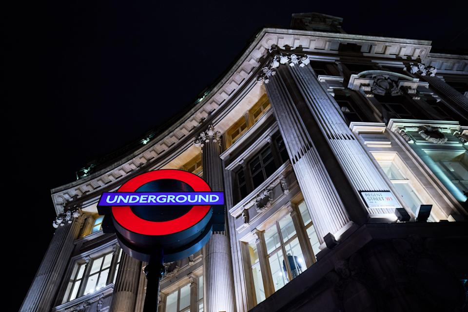 The incident occurred at Oxford Circus Tube Station (John Walton/PA) (PA Archive)