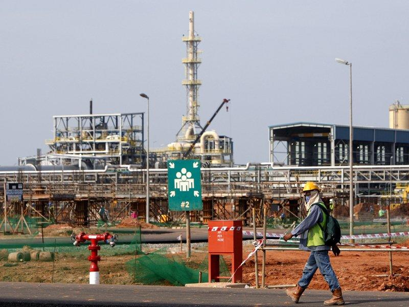 Lynas ramps up Malaysian plant