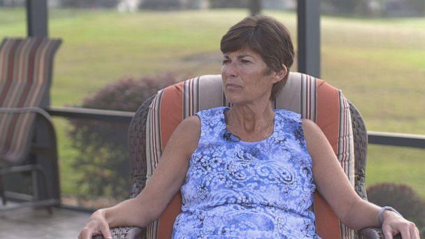 PHOTO: Sara Branscome, a resident of The Villages retirement community, talks to 'Nightline' about volunteering for the Democratic Party in support of Joe Biden.  (ABC News )