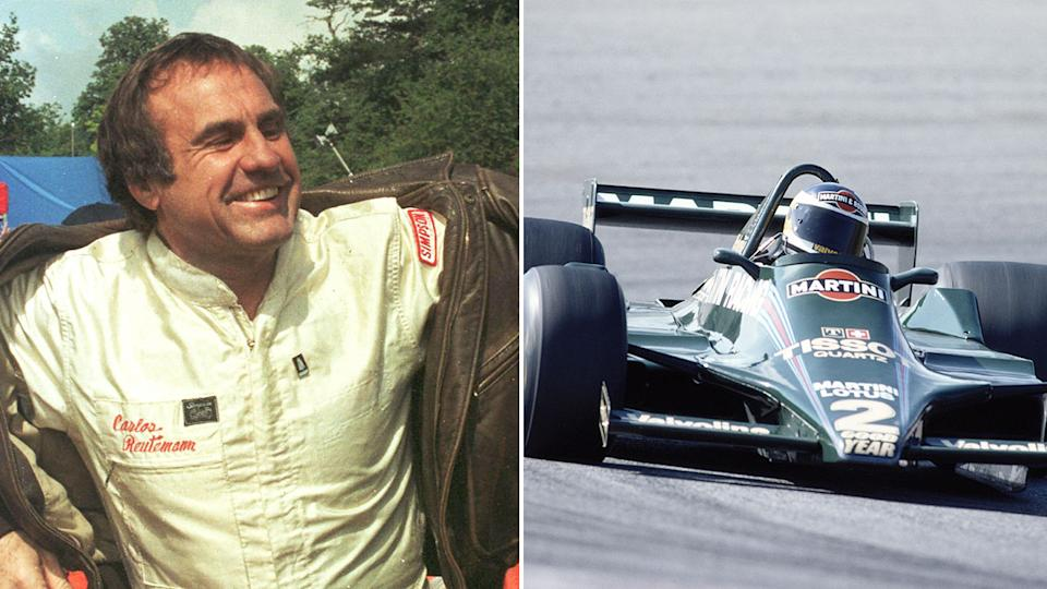 The motorsport world has paid tribute to iconic Argentine driver, Carlos Reutemann. Pic: Getty