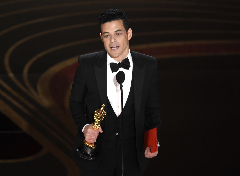 Rami Malek (Credit: Chris Pizzello/Invision/AP)