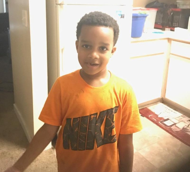 Kingston Frazer, 6, was found dead inside of his mother's car after it was stolen outside of a grocery store, police said.