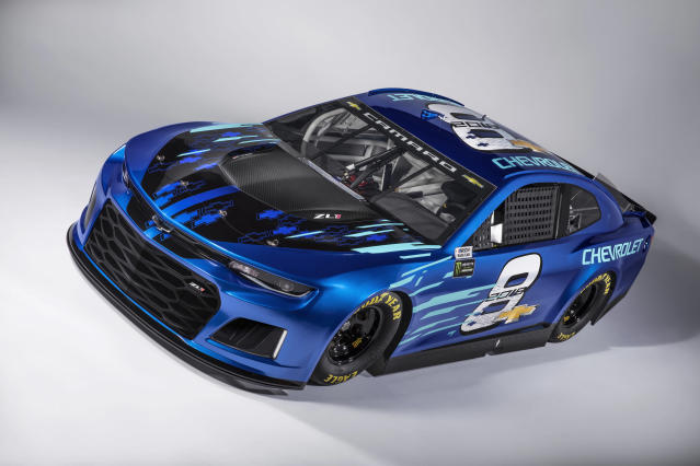 Here's what the new Chevy Cup car will look like in 2018. (Chevrolet)