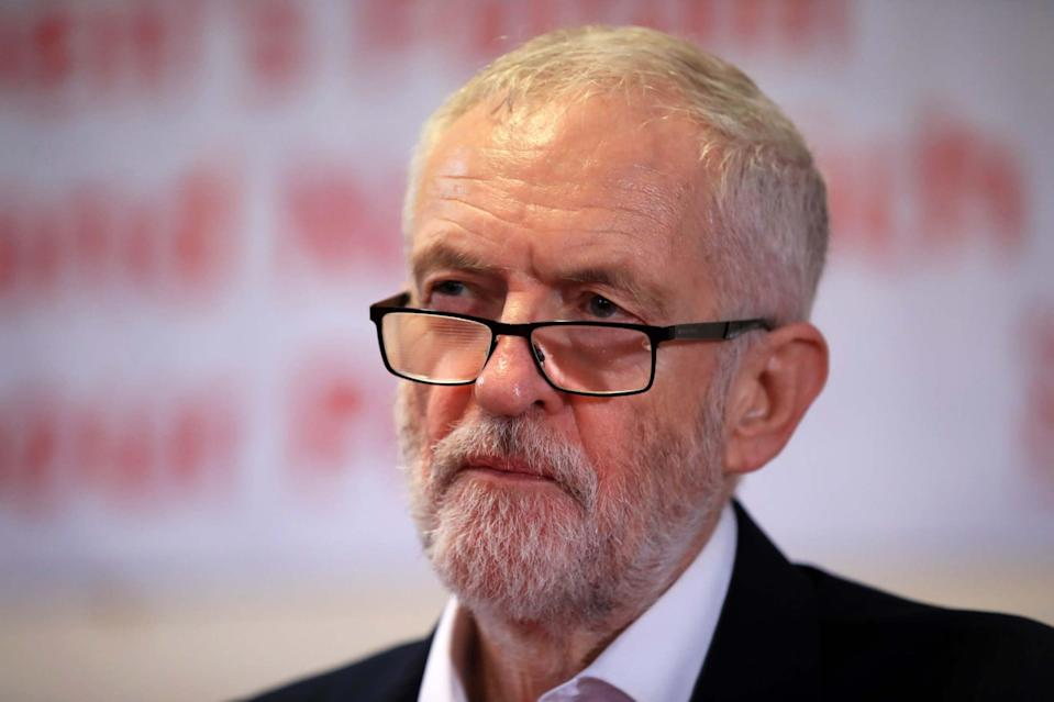 <p>The motion called on Sir Keir Starmer to restore the whip to Jeremy Corbyn</p> (PA)