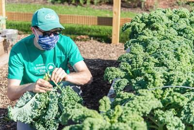 The Garden for Good at Subaru Park, which is maintained by the Pennsylvania Horticultural Society and Subaru employee volunteers, is Chester's first sustainable and organic garden.