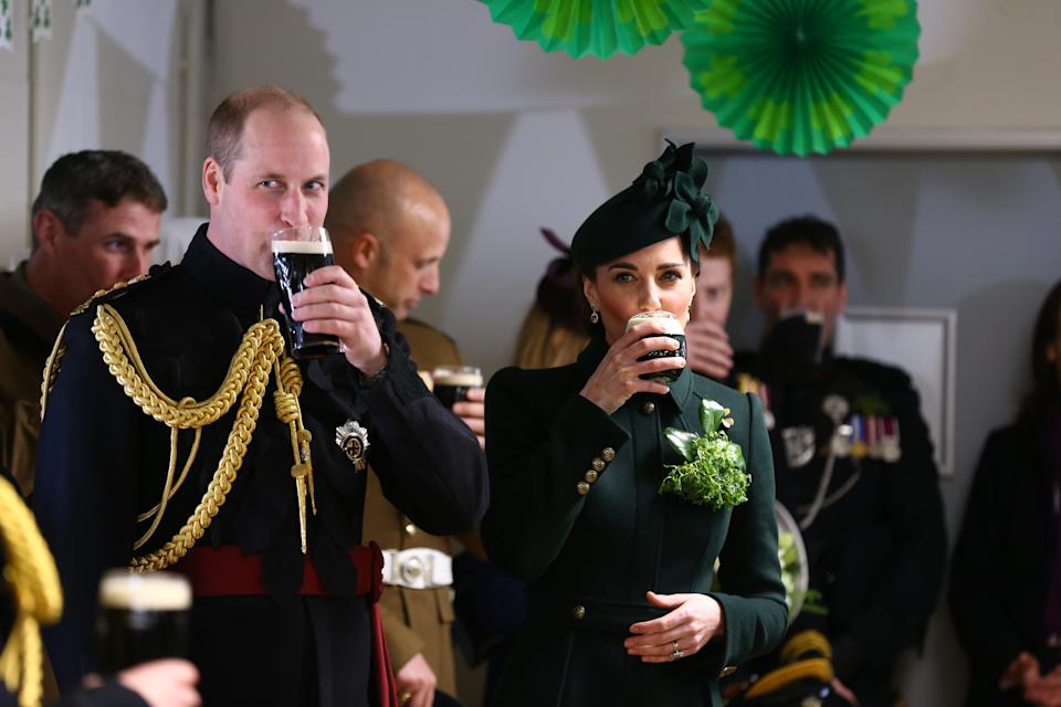 """<h1 class=""""title"""">The Duke And Duchess Of Cambridge Attend The Irish Guards St Patrick's Day Parade</h1><cite class=""""credit"""">Gareth Fuller - WPA Pool/Getty Images</cite>"""