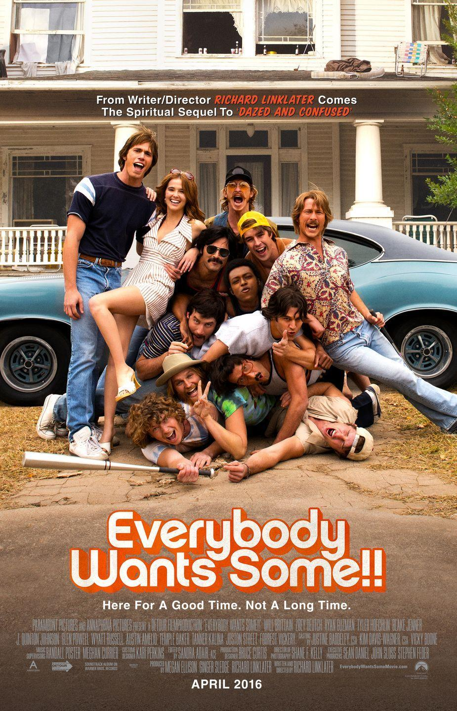 """<p>Set in Texas in the year 1980, a college freshman named Jake (<strong>Blake Jenner</strong>) meets his new best friends and baseball teammates. Despite being warned by their coach to be responsible, they all rebel and partake in mischief. The film's focus on the nostalgic details – the mustaches, cars, wardrobe, and '80s-esque soundtrack — is what makes this film worth a watch.</p><p><a class=""""link rapid-noclick-resp"""" href=""""https://www.amazon.com/Everybody-Wants-Some-Will-Brittain/dp/B01DMZX1PU/ref=sr_1_1?crid=1VT5IWWHYCWFL&dchild=1&keywords=everybody+wants+some&qid=1596922472&sprefix=everybody+wants+some%2Caps%2C143&sr=8-1&tag=syn-yahoo-20&ascsubtag=%5Bartid%7C10055.g.33513354%5Bsrc%7Cyahoo-us"""" rel=""""nofollow noopener"""" target=""""_blank"""" data-ylk=""""slk:WATCH NOW"""">WATCH NOW</a></p>"""