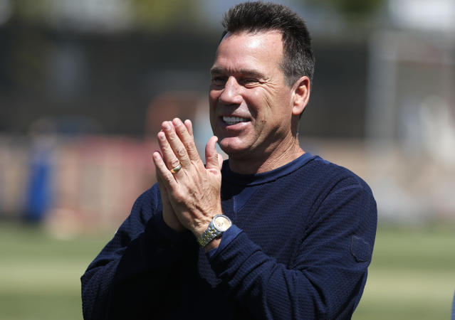 It was reported Denver Broncos senior personnel advisor Gary Kubiak would be returning to the sidelines as offensive coordinator, but now it seems that won't come to pass. (AP)