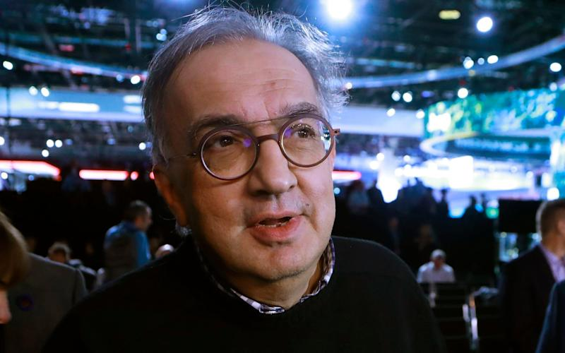 Sergio Marchionne, known for his casual appearance and to-the-point approach to the media, is stepping down due to poor health - AP