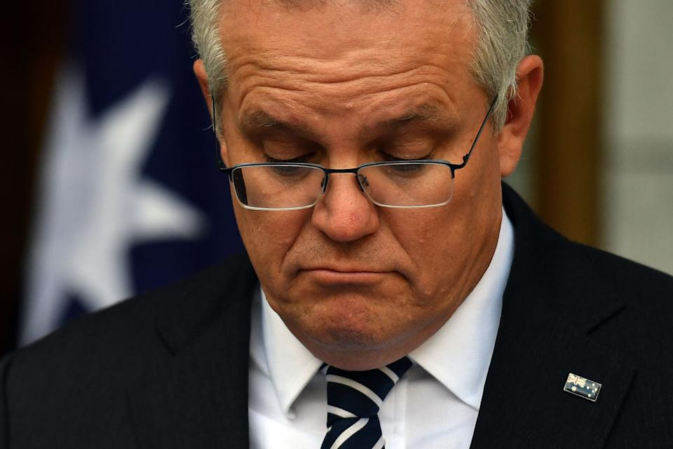 Mr Morrison refused to admit fault on the error. Source: Getty