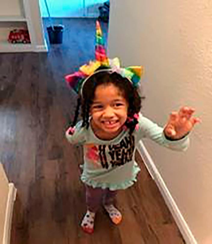 This undated photo released by the Houston Police Department shows Maleah Davis.