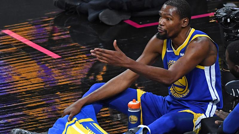 Durant scores 41 at MSG, Warriors beat Knicks 128-100