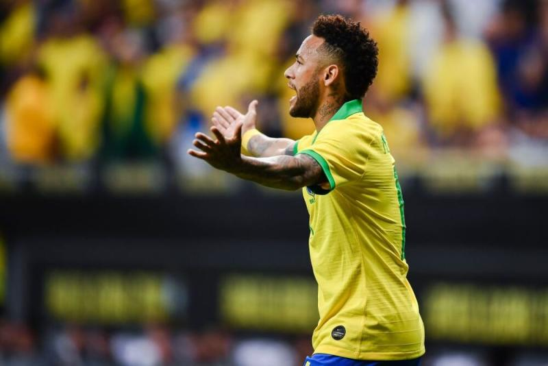 Neymar. | EVARISTO SA/AFP via Getty Images