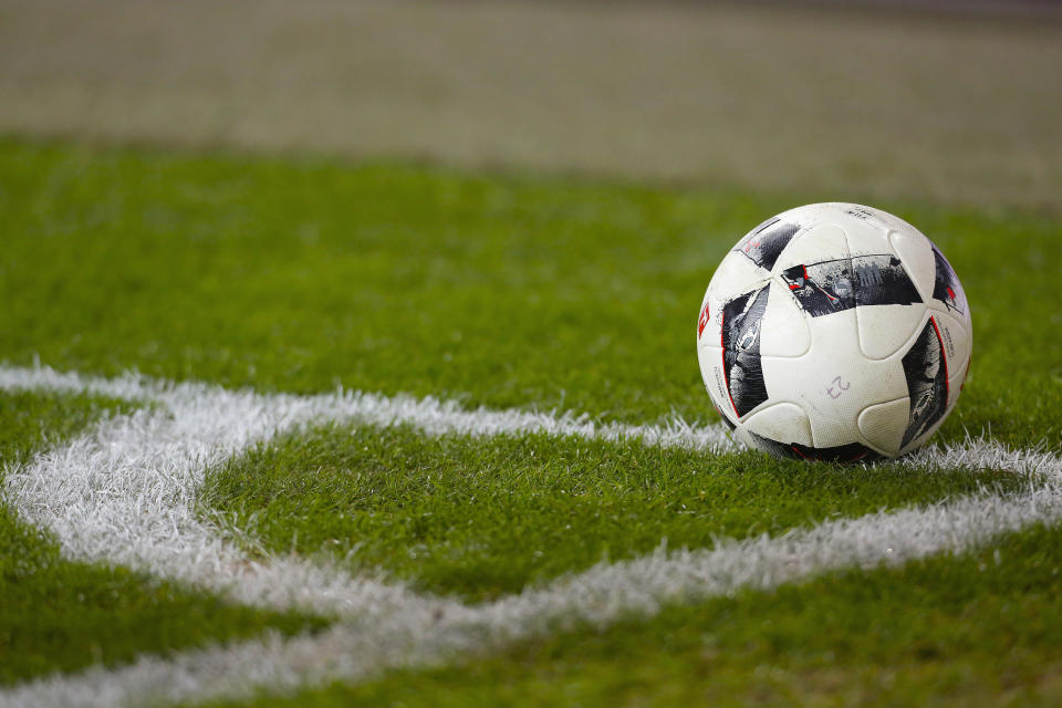 Three players are suspected of brutally beating a referee after an amateur soccer game in Ireland. (Getty Images)
